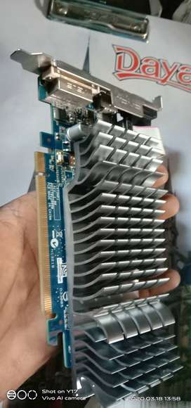 ASUS NVIDIA SILENT 1 GB DDR3 GRAPHICS CARD
