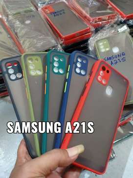 Samsung A21s & A02s Case HYBRID DOVE + PELINDUNG kamera