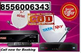 TATA SKY AND AIRTEL NEW DTH CONNECTION BEST OFFER