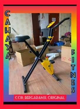 Alat fitnes sepeda statis magnetik bike x bike murah