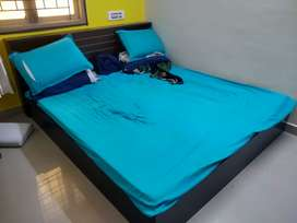 KING SIZE bed (without Mattress) - NEGOTIABLE