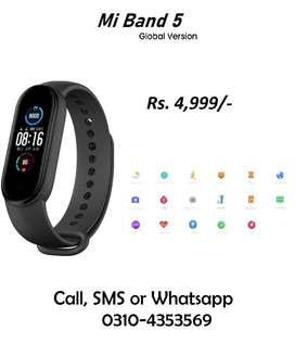 Xiaomi Mi band 5 Original Global Edition Home Delivery Available Band5