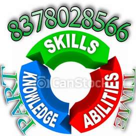 Computer or laptop work done from home basic knowledge is required