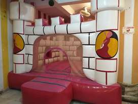 1 jumping size 12 x 12 ( Rides 13  and 2 video game )