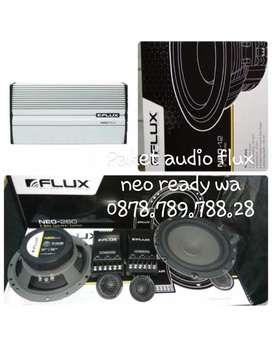 Paket audio flux neo 2way suara ok kualitas terbaik made in germany