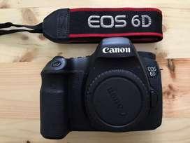 Dijual canon 6D Mark 1 kondisi bagus