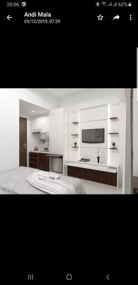Apartemen baru full furnish