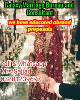 Marriage bureau services