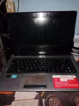 Laptop Asus Core i3 Nvidia