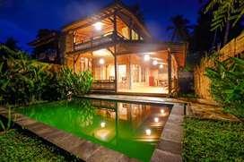 Villa jungle view. Area ubud