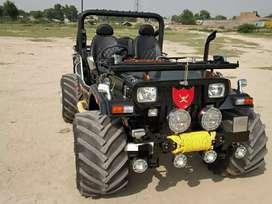 Jain modified Jeeps