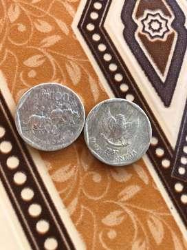 Uang koin kuno langka