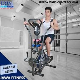 Sepeda statis Elliptical Orbitrack plat I Sepeda 5 Multifungsi Gym