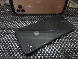 iPhone XS Max 256GB Grey, Original, Lengkap Ori Bawaan, Mulus, Normal