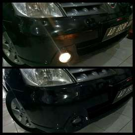 Upgrade Lampu Mobil- Foglamp Livina Lama, Grand Livina