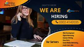 FRESHERS are required for PART TIME JOB