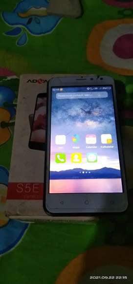 Handphone Advan S5E 4G
