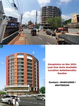 Premium 3 BHK Apartment - Heart of the City ( Ambalamukku  Kowdiar)
