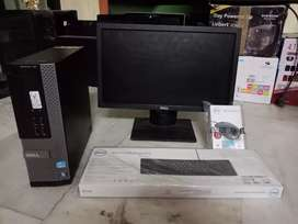 Dell i5 PC 4gb ram 500gb hdd 2gb graphic box pack condition only cpu@f