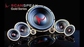 Speaker Scanspeak Gold Series tdk jd pakai