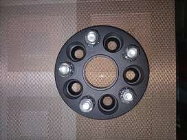 Wheel Spacers Imported Aluminium Alloy 20mm wide 100 PCD for Corolla