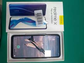 REALME X 4GB -, 128GB. 11 MONTH WARRANTY AVAIABLE, FULL BOX WITH BILL.