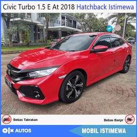 Civic Turbo 1.5 E Hatchback 2018 Istimewa Bisa Kredit