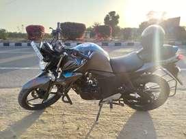 Yamaha FZS v2 single handed bike October 2017 model
