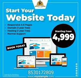 Website Responsive only 5000