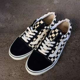 Vans Old Skool V36-38 Black/White Checkerboard