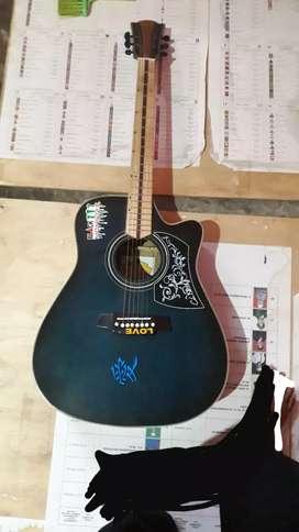 Gitar akustik coelclark