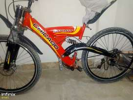 Sports Bicycle with Gears