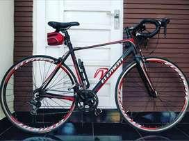 Element 700c FRC 60 Sepeda Roadbike - Hitam