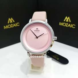 Jam Tangan Mozaic 5001 Pink