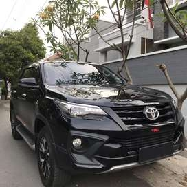 KM 10 RBan PJK Baru Fortuner VRZ TRD 2018 Hitam Matic Asli Jateng