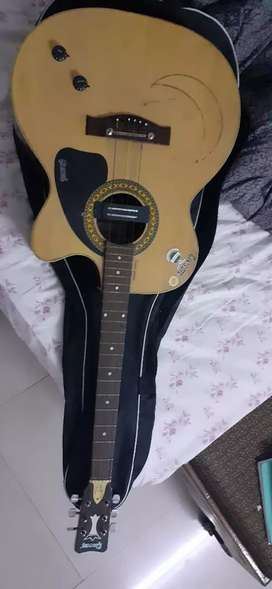 Givson guitar yellow