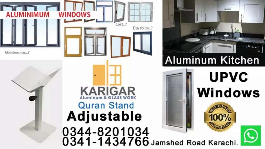 We deal all kind of Aluminum work 0