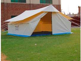 Labour tents and camps