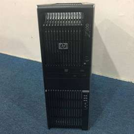 PC HP Z600 WORKSTATION E5504 XEON E single vga