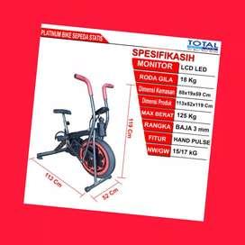 jual sepeda statis platinum bike total G-062 alat fitnes demak