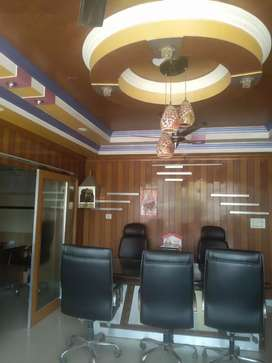 Luxury fully furnished office space available for rent in indirapuram