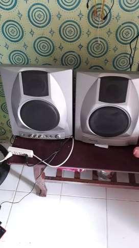 Speaker aktif GARRARD rare item