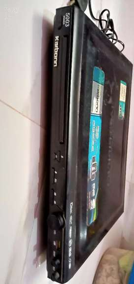 A brand new CD/DVD Player of brand Karbon is for sale
