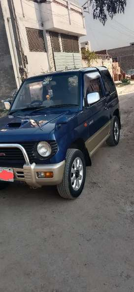 Mitsubishi pajero mini 1996/2006 1100cc manual Islamabad registered