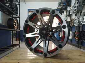 Velg KLEAK HSR ring 20x9 H6x139,7 for hilux prado pajero fortuner dll