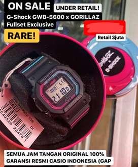 G shock GWB - 5600 x Gorillaz fullset