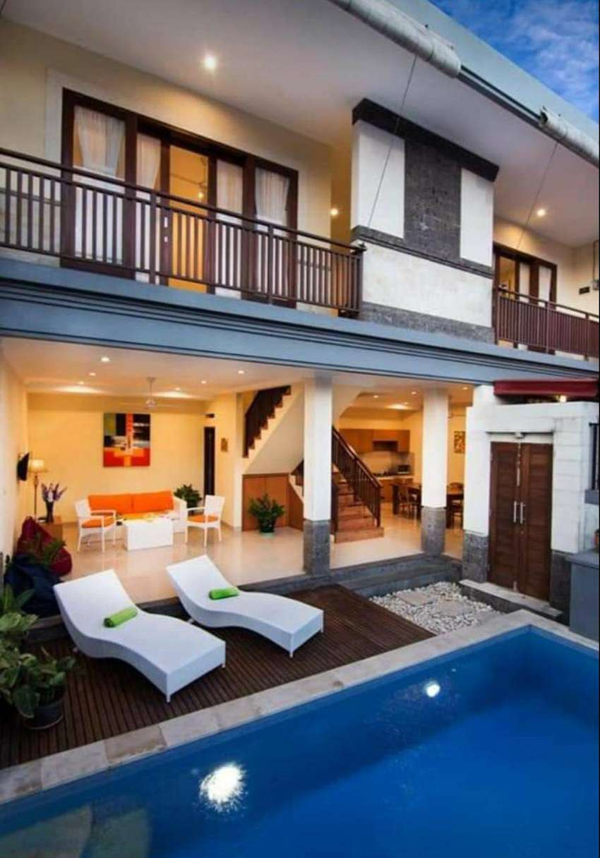 YEARLY FOR RENT 2 BEDROOMS VILLA IN CANGGU - MR061