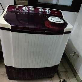 Lg semi automatic washing machine 8 kg