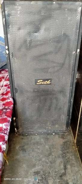 Dj sound 2 speakers