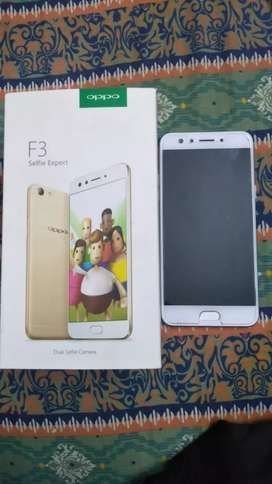 Oppo F3 4Gb Ram 64Gb Storage slightly used just like new PTA approved